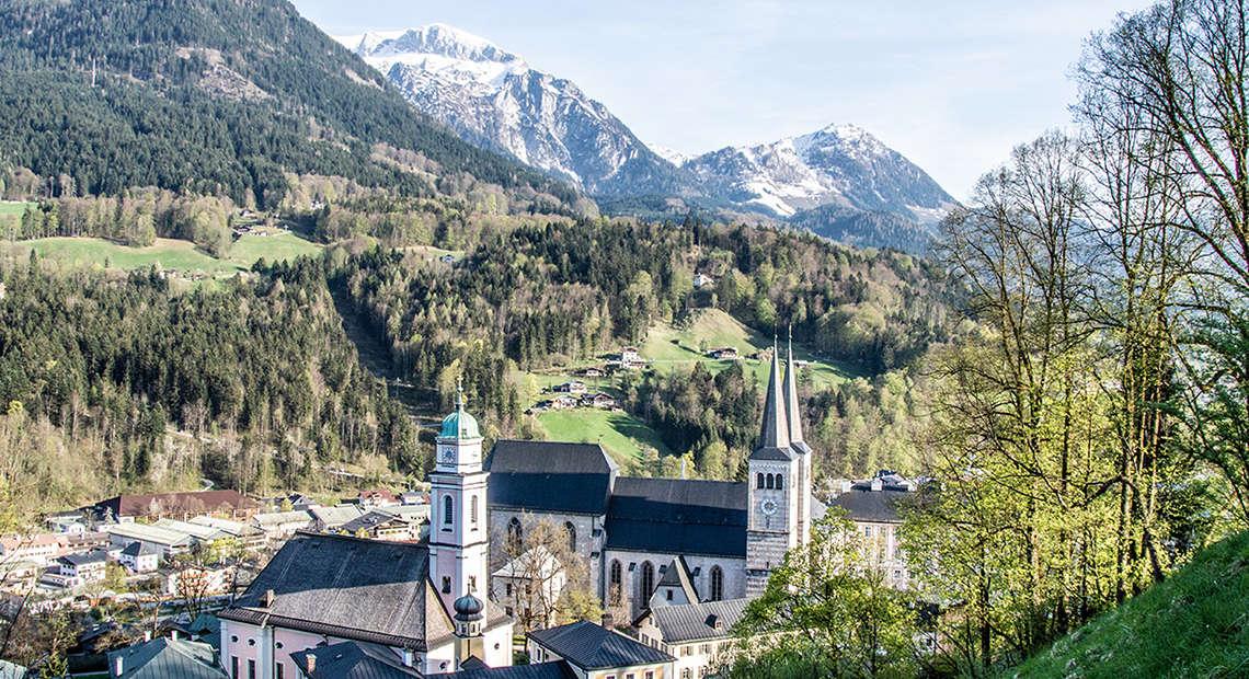 Berchtesgaden Fruehling