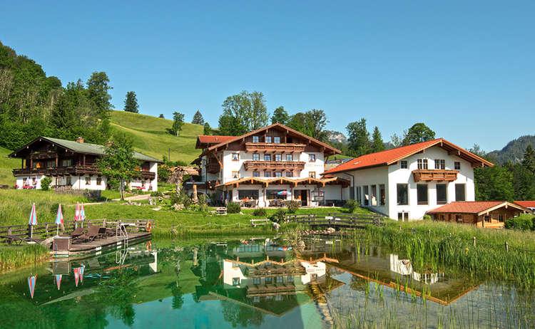 Reissenlehen: Das Naturhotel in Bischofswiesen bei Berchtesgaden