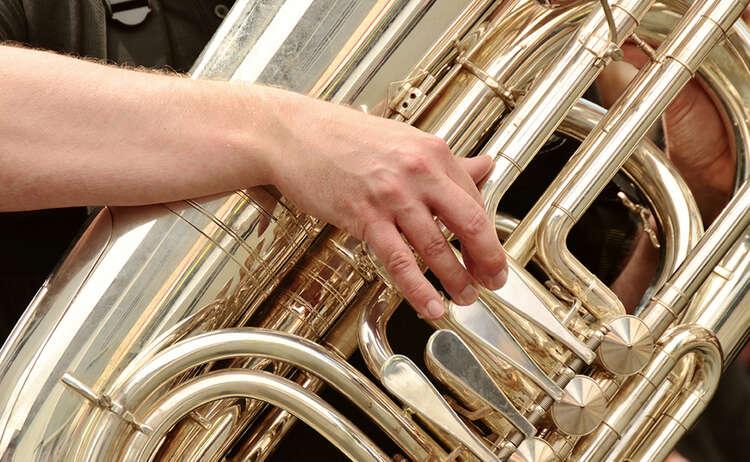 Standkonzert der Berchtesgadener Musikkapellen